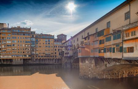 ponte: Ponte Vecchio in Florence, Italy.
