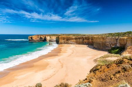 Beautiful coastline on the Great Ocean Road, Victoria - Australia.