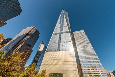 Modern skyline of New York City - Manhattan. Stock Photo
