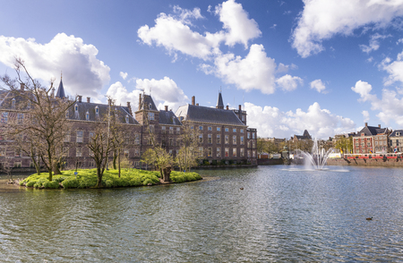 the hague: Binnenhof, Dutch Parliament - The Hague (Den Haag), Netherlands. Editorial