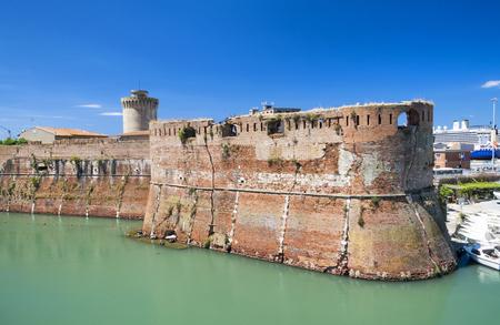 fortezza: Fortezza Nuova in Leghorn, Tuscany.