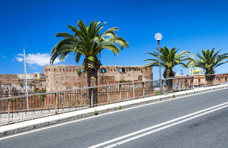Fortezza Nuova in Leghorn, Tuscany.