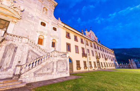 Night view of Calci Charterhouse - Pisa, Tuscany.