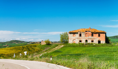 Ancient home in Tuscany countryside.
