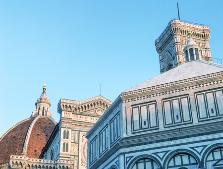Florence medieval architecture, Tuscany.