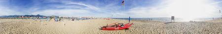 elba: Panoramic view of beach in Tuscany. Stock Photo