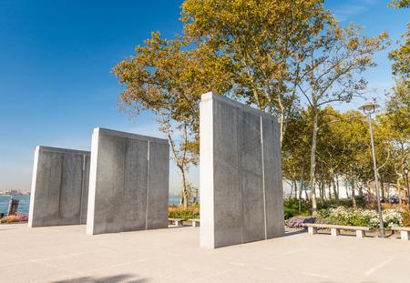 World War II Memorial in Downtown Manhattan.