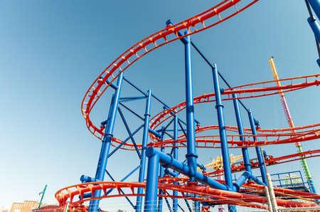 NEW YORK CITY - SEPTEMBER 2015: The Luna Park amusement park at Coney Island in New York City. Editorial