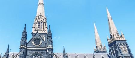 St Patrick Cathedral in Melbourne, Australia.