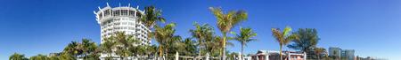 st  pete: Panoramic view St Pete Beach, St Petersburg, Florida - USA.
