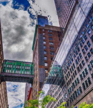 New York City - Manhattan skyscrapers, NY, USA. Stock Photo