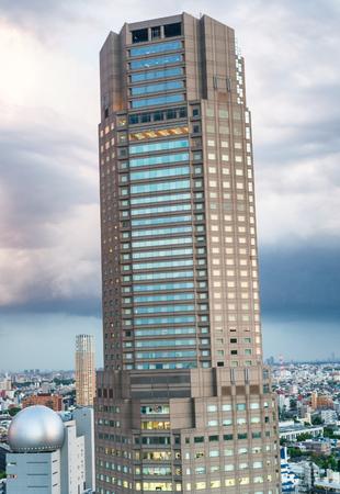 Horizonte aéreo de Shibuya, Tokio - Japón. Editorial
