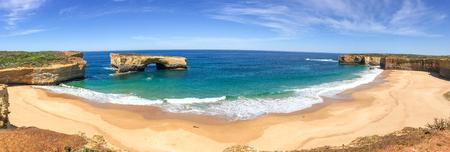 Razorback lookout panorama along Great Ocean Road, Australia. Editorial