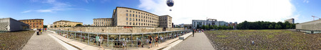 BERLIN, GERMANY - JULY 2016: Tourists visit city museum. Berlin attracts 10 million people annually. Editorial