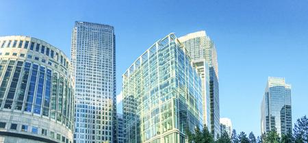 canary wharf: Buildings of Canary Wharf.