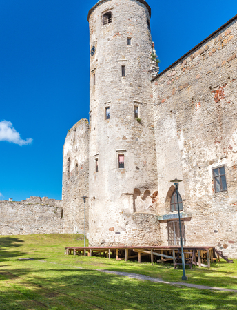 Haapsalu Castle in Estonia. Stock fotó