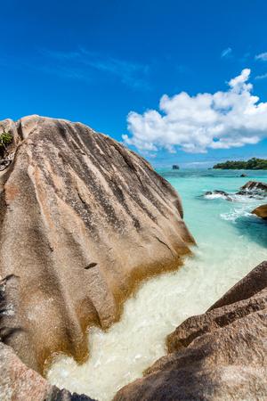 la digue: La Digue Anse Source DArgent - Seychelles rocks.