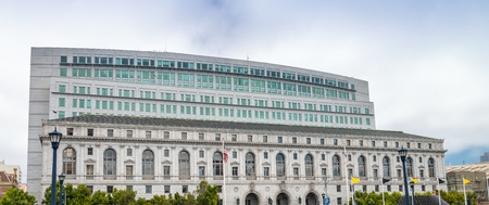 Edificio del Tribunal Superior de California, San Francisco. Foto de archivo - 87811547
