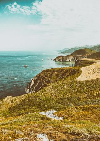 sur: Big Sur Coastline near Monterey, CA.