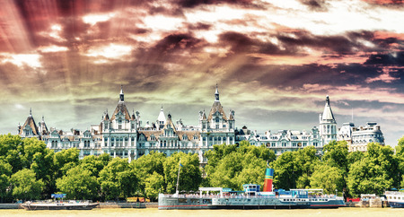 The Royal Horseguards originally built in 1884 in style of a French castle as the home of the National Liberal Club Éditoriale