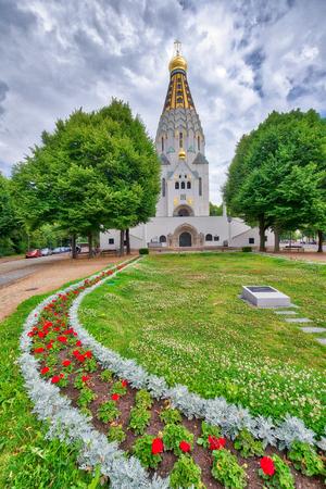 Chiesa ortodossa russa a Lipsia, Germania.
