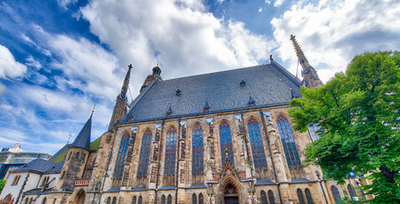 Thomaskirche in Leipzig, Germany.
