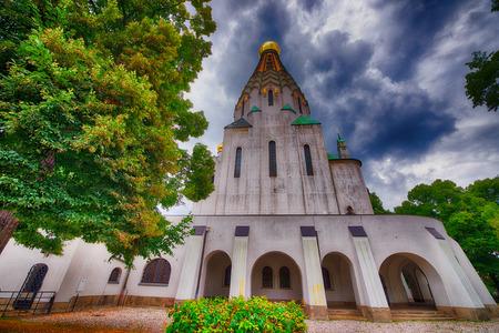 Russian Orthodox Church in Leipzig, Germany.