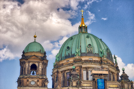 Berlin Cathedral on a beautiful sunny day.