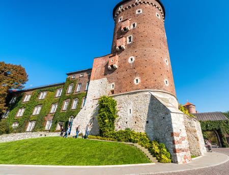Wavel Castle, Krakow, Poland.