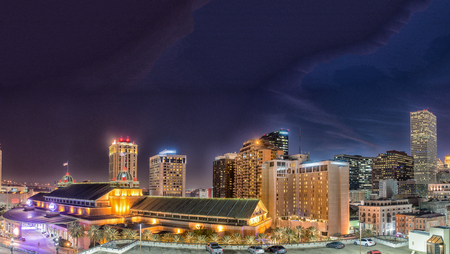 Buildings of New Orleans, Louisiana. Stock Photo