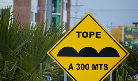 Street Signs in Mexico, Quintana Roo