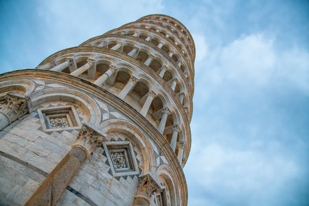 Tower of Pisa at night, Tuscany.