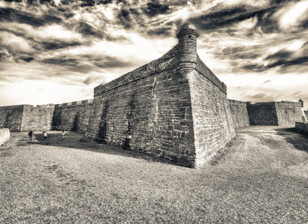 Castillo San Marcos, St Augustine, Florida. Editorial