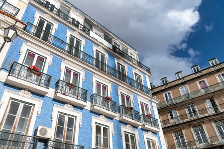 Colorful buildings of Lisbon, Portugal. 写真素材
