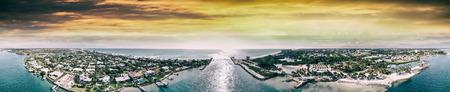 Aerial view of beautiful coastline. 写真素材