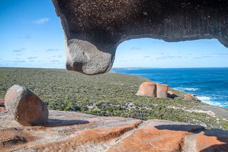 Beautiful Remarkable Rocks in Flinders Chase National Park, Kangaroo Island, Australia.