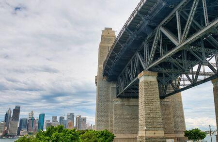 Sydney Harbor Bridge, city symbol, Australia.