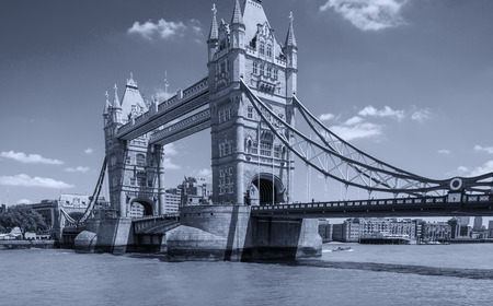 Beautiful view of Tower Bridge, London.