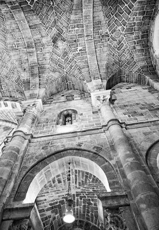 Interior of Saint John The Baptist Church in Matera, Italy.