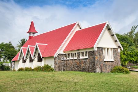 Notre Dame Church in Cap Malheureux, Mauritius.