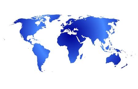 translucent: Mappa del vettore mondo