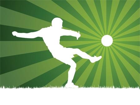 jugador de futbol soccer: futbolista