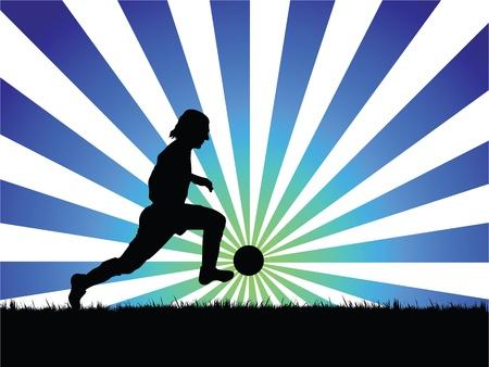 champ: soccer player