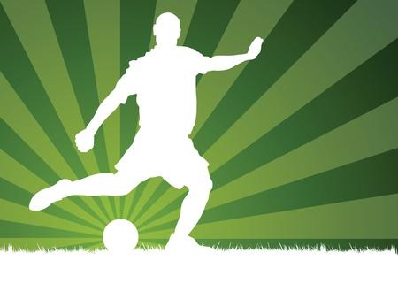 footballer: soccer player
