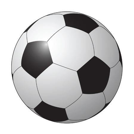 scoreboard: isolated soccer ball