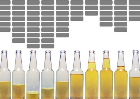 beer equalizer Stock Photo - 10269622