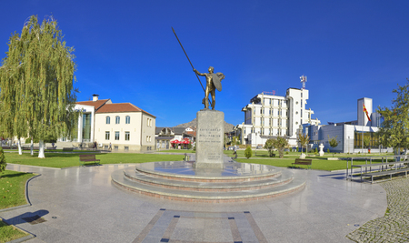 alexandros: Alexander the Great Monument in Prilep, Macedonia