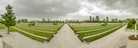 WW1 French Cemetery in Bitola, Macedonia