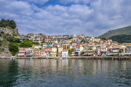 Greece  - Parga - Ionian Sea Stock Photo