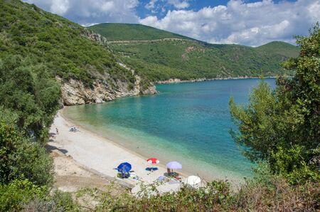 Summer landscape - Agios Giannakis beach near Parga, Greece